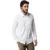 Craghoppers NosiLife Tatton overhemd en blouse lange mouwen Heren wit